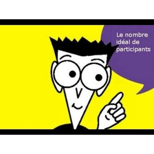 le nombre idéal de participants