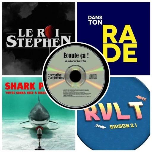 Ep 36 : Zikdepod 8 (Retour Vers Le Turfu, Le Roi Stephen, Dans Ton Rade, Shark Parade)