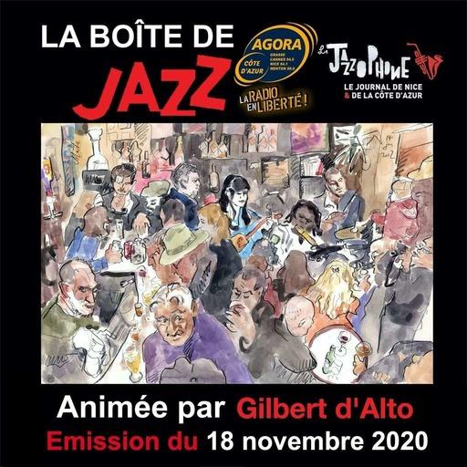 """La Boîte de Jazz du 18 novembre 2020  """"Space Jazz suite et fin"""""""