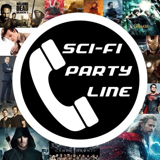 Sci-Fi Party Line #266 The Walking Dead Group Therapy