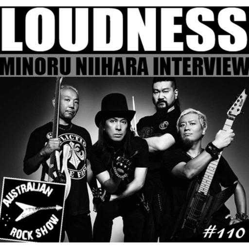 Episode 110 - Minoru Niihara Interview - Loudness