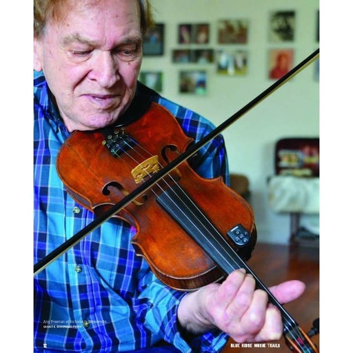 Arvil Freeman Plays His Distinctive Fiddle Style