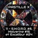 Pastille X 11 - Semaines du 29 septembre et du 6 octobre 2021