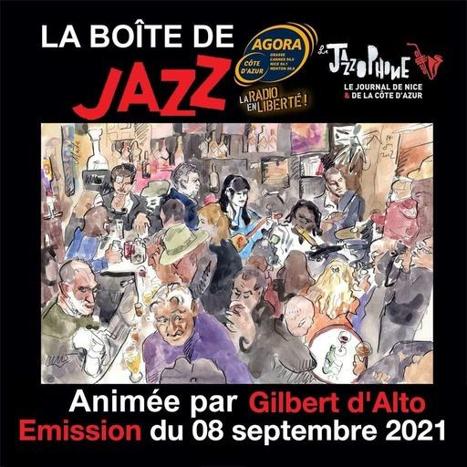 La Boîte de Jazz du 08 septembre 2021 – Spéciale Philippe Ciminato
