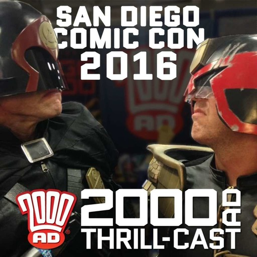 2000 AD at San Diego Comic Con 2016