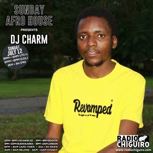 Sunday Afro House #001 - - Dj Charm.m4a
