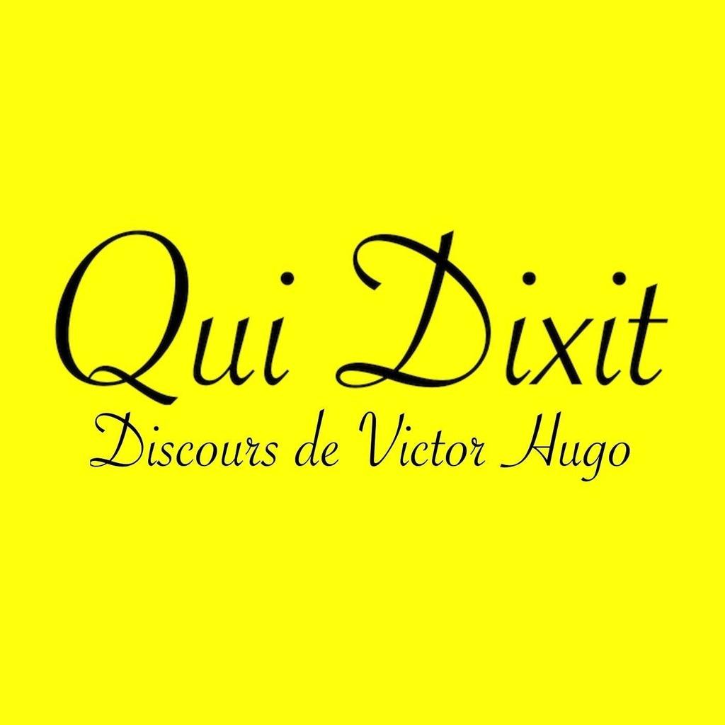 Discours de Victor Hugo