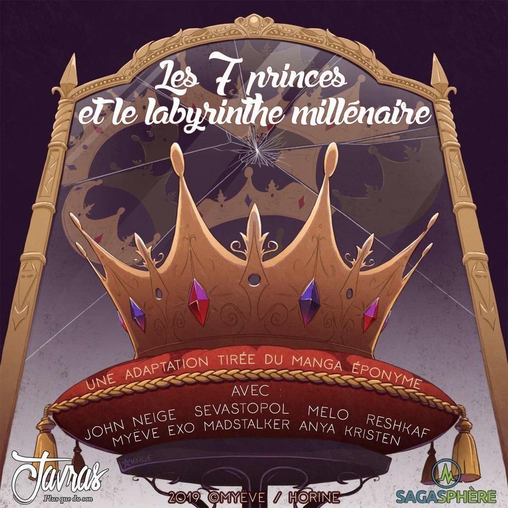 Les 7 princes et le labyrinthe millénaire