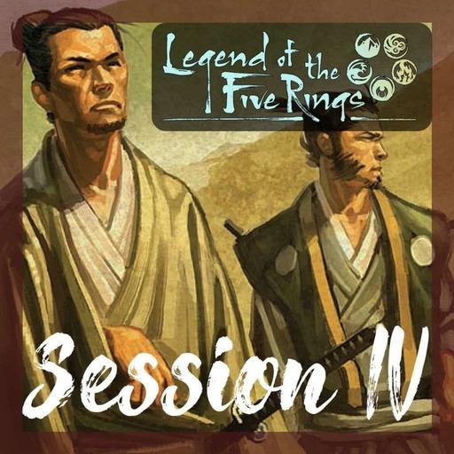 Le Livre des 5 Anneaux - Le tournois des Samouraïs - Session 04