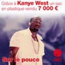 4 août 2021 - Grâce à Kanye West un sac vendu 7000 euros - Sur le pouce