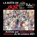 """La Boîte de Jazz du 20 octobre 2021 – Spéciale """"Free and Funky"""""""