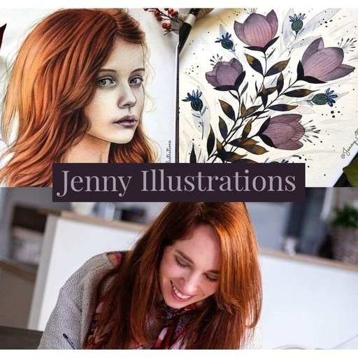 #12 Jenny Illustrations, l'aquarelliste star d'Instagram