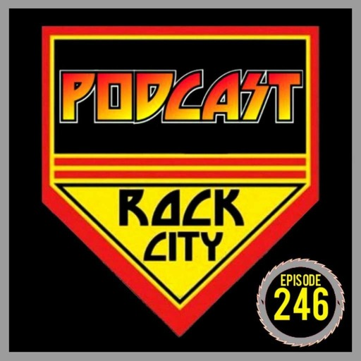 PODCAST ROCK CITY #246 - Tommy Thayer and Bruce Kulick interview!