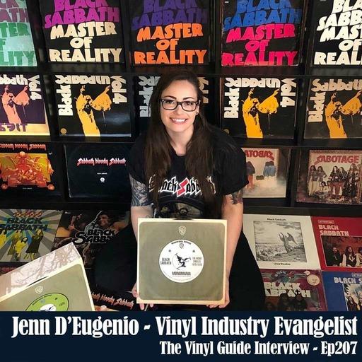 Ep207: Jenn D'Eugenio - Vinyl Industry Evangelist