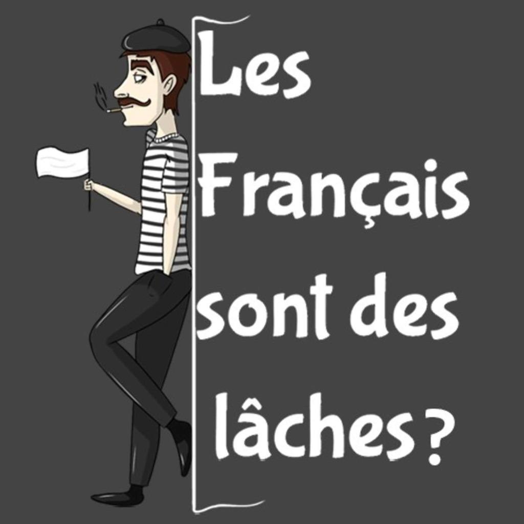 Les Français sont des lâches?