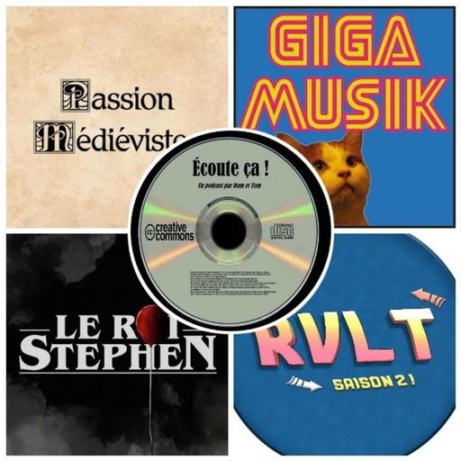 Ep 35 :  Zikdepod 7 (Passion Médiévistes, Retour Vers Le Turfu, Le Roi Stephen, Giga Musik)