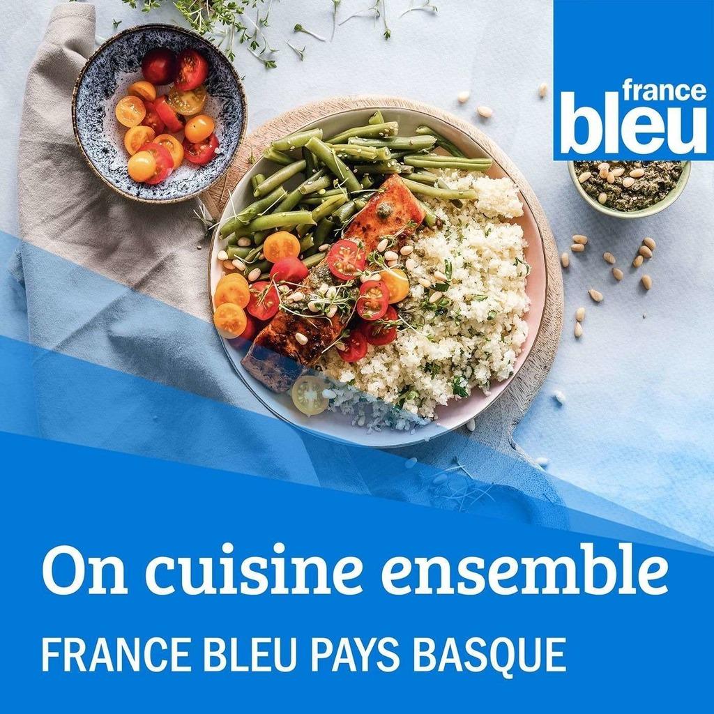 On cuisine ensemble avec France Bleu Pays Basque