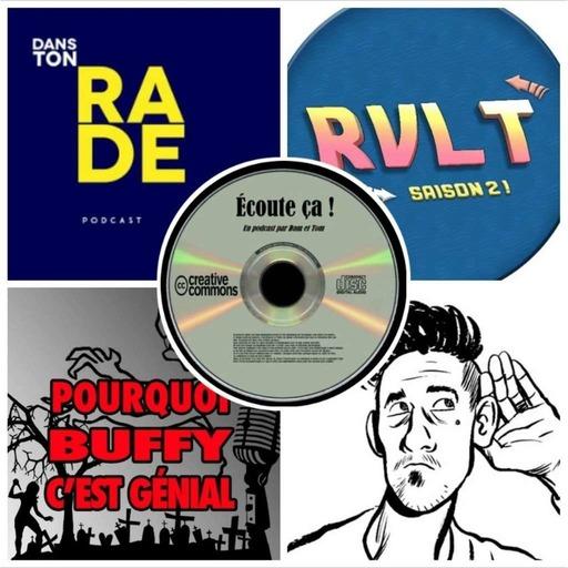 Ep 30 : Zikdepod 2 (Dans Ton Rade - Retour Vers Le Turfu -  Pourquoi Buffy C'est Génial - Thomas Crayon)