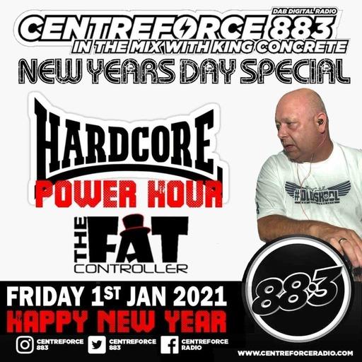 Episode 137: Hardcore Power Hour - Centreforce Radio 883 1st Jan 2021