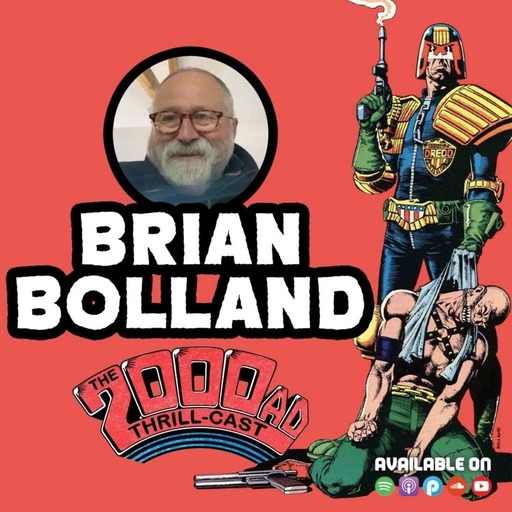 The 2000 AD Thrill-Cast Lockdown Tapes: Brian Bolland