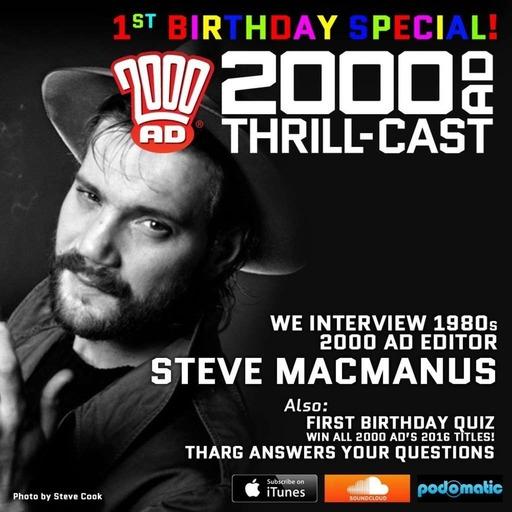 The 2000 AD Thrill-Cast 27 January 2016
