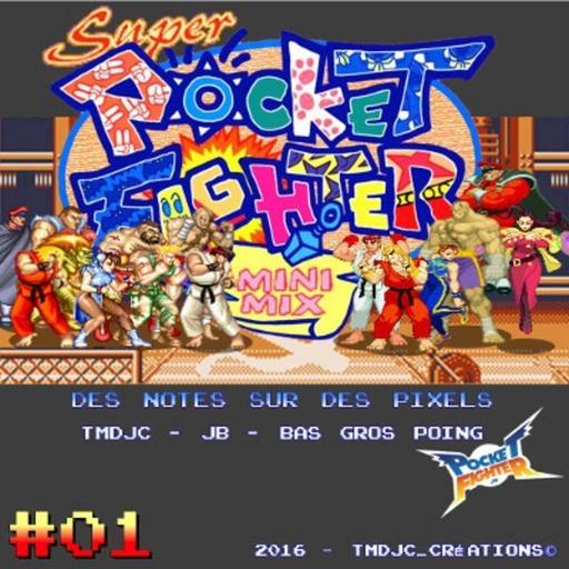 Super Pocket Fighter MiniMix #01 : Street Fighter sur GameBoy