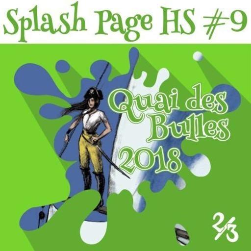 Quai des Bulles 2018 : JH, Maffre, Chapron, Arleston, Tumelaire, Editions Flblb, Tébo