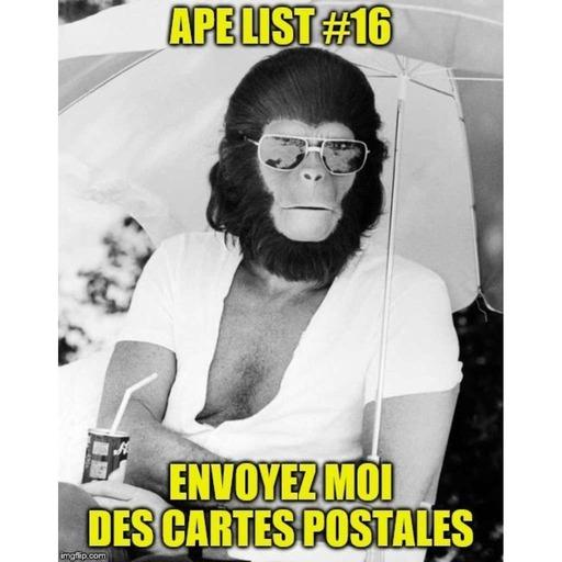 Ape List #16 – Envoyez-moi des Cartes Postales.mp3