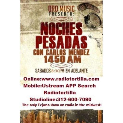 Noches Pesadas Tejano Radio show and podcast September 26, 2015