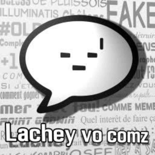 Lachey vo com'z 03 - Vos commentaires sont loin d'être drôle.