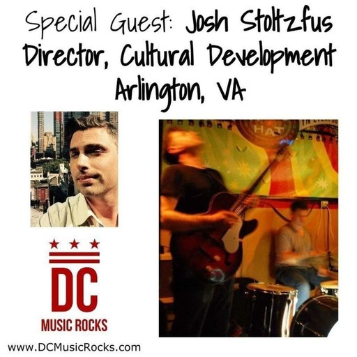 September 20, 2016 - Special Guest: Josh Stoltzfus, Director - Cultural Development, Arlington County, VA