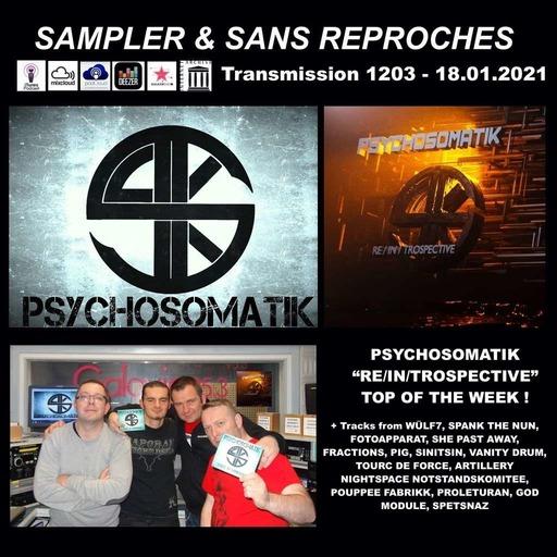 RADIO S&SR Transmission n°1203-- 18.01.2021 ( TOP OF THE WEEK PSYCHOSOMATIK «RE/IN/TROSPECTIVE» )