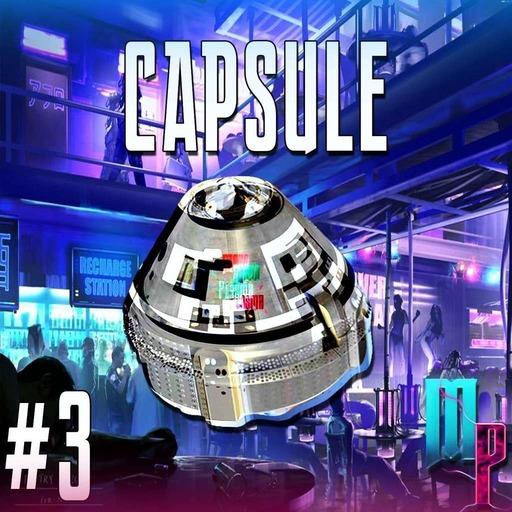 La capsule de Mana et Plasma #3 au coin du néon