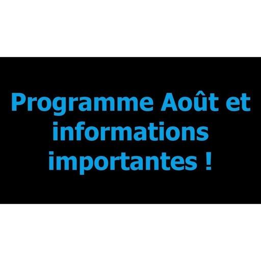 Programme du mois d'Août mp3.mp3