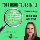 S2 E2 - # 16 - Florence Bigot - Directrice Juridique et Secrétaire Général
