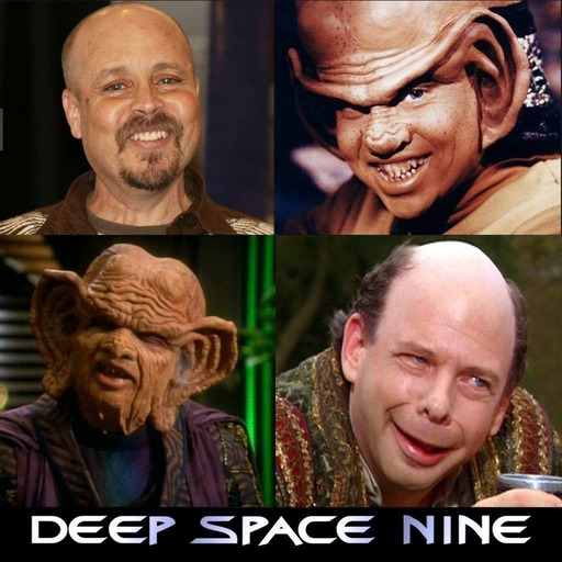 Scifi Diner Podcast 359 – Two Ferengis Walk Into A Bar (Our Interviews with Aron Eisenberg (Nog) and Wallace Shawn (The Grand Nagus)