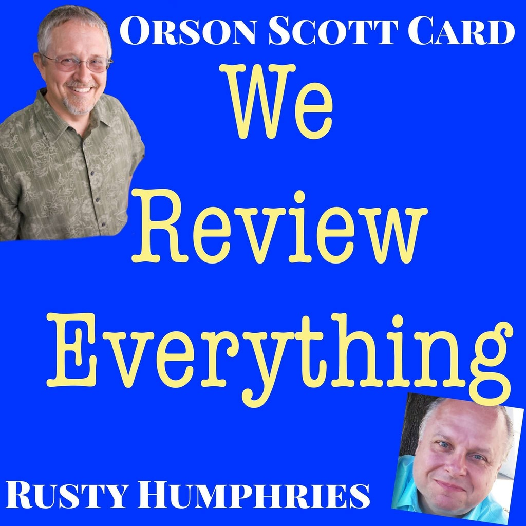 Orson Scott Card's We Review Everything podcast