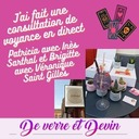 Apero Voyance de Verre et Devin, témoignages de Patricia avec Inès Sarthal et Brigitte avec Véronique Saint Gilles