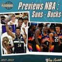 Les previews NBA 2021-22 : Phoenix Suns et Milwaukee Bucks