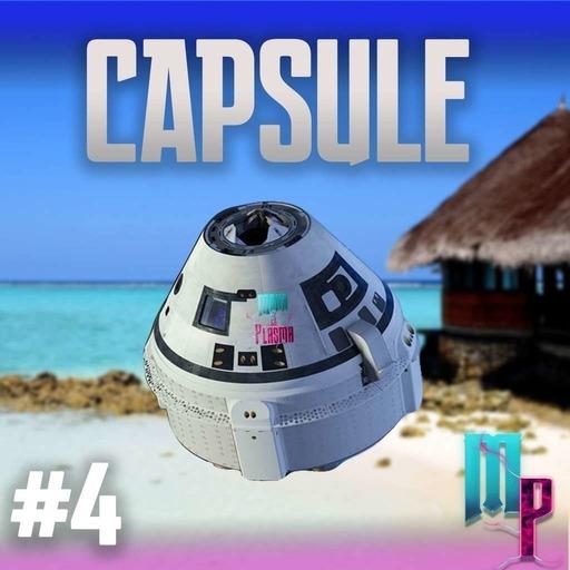 La capsule de Mana et Plasma #4 sur la plage