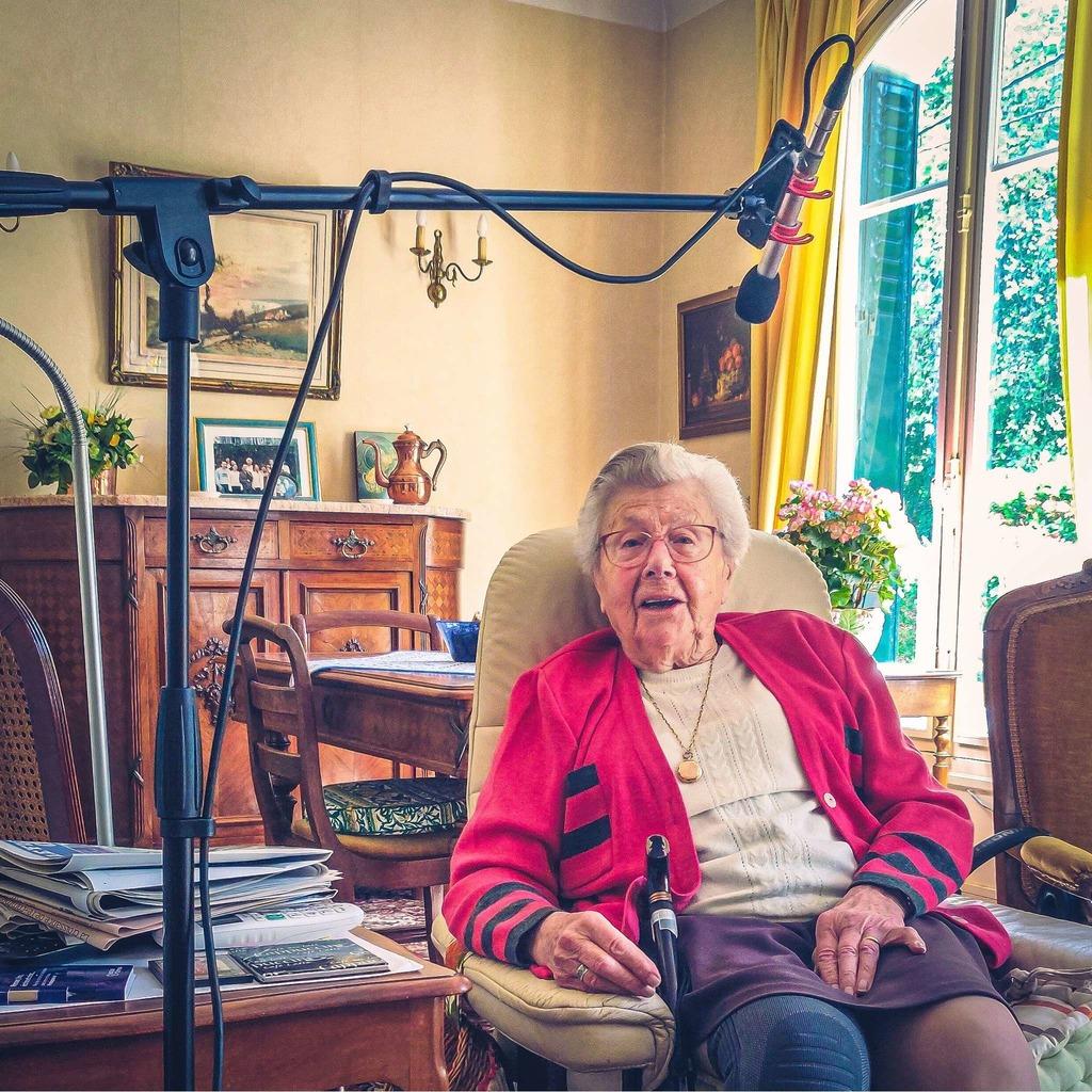 Ma grand mère et son histoire