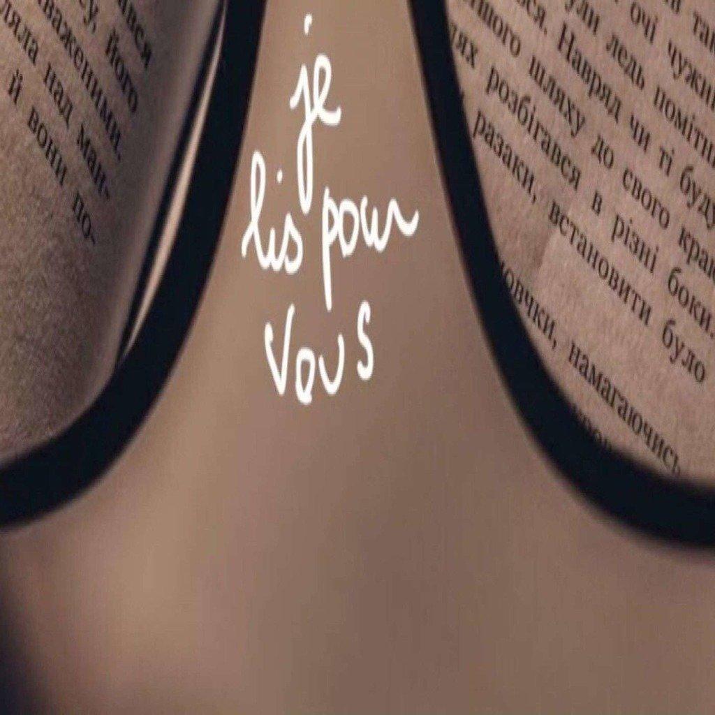 Je lis pour vous et c'est gratuit