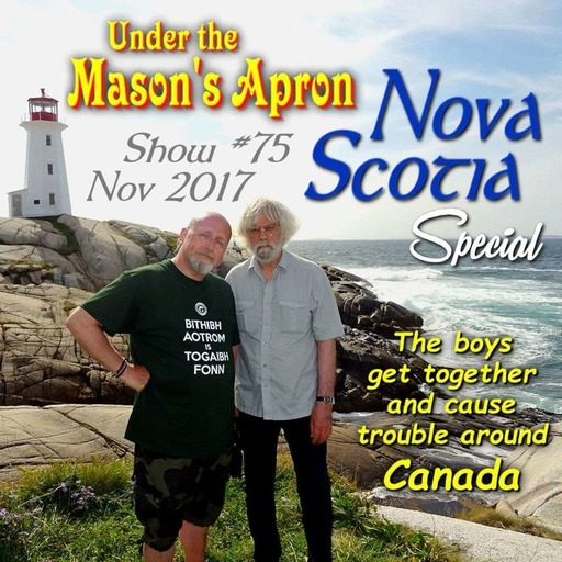 Under The Mason's Apron Folk Show #75 Late October 2017