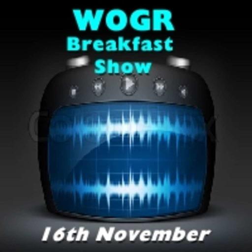 Oldies Breakfast Show 16th November
