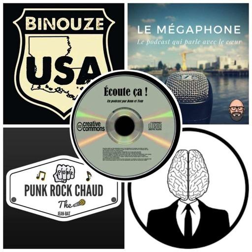 Ep 32 : Zikdepod 4 ( La Tête Dans Le Cerveau, Punk Rock Chaud, Le Mégaphone, Binouze USA)