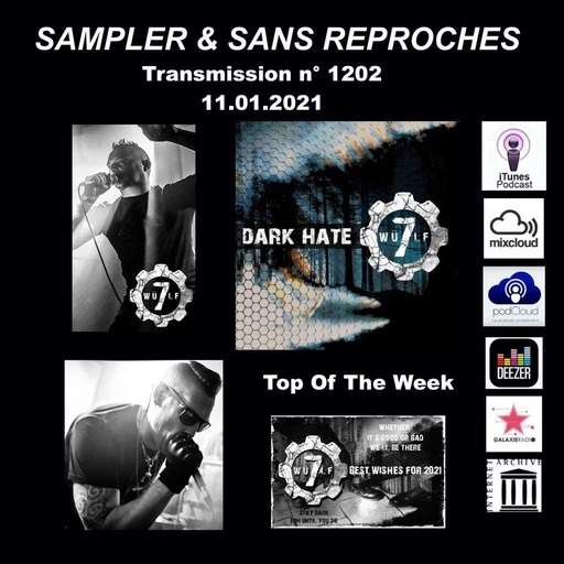 RADIO S&SR Transmission n°1202-- 11.01.2021 ( TOP OF THE WEEK WÜLF7 « Dark Hate » )