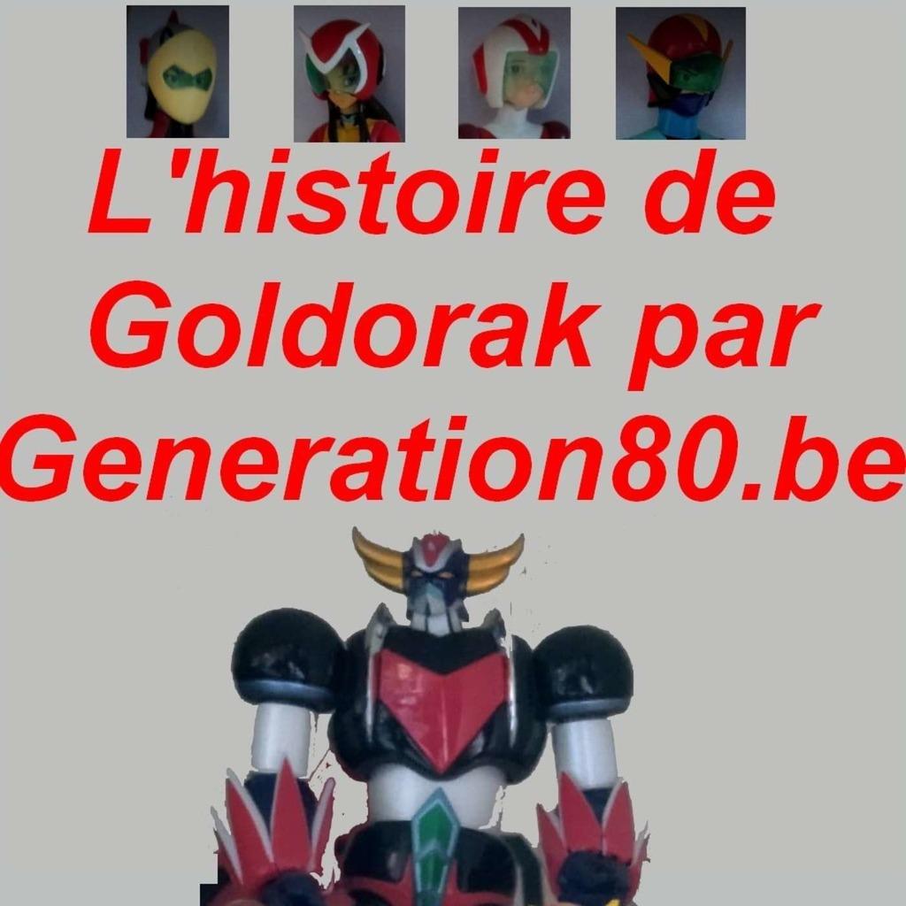 L'histoire de Goldorak vue par Génération80.be