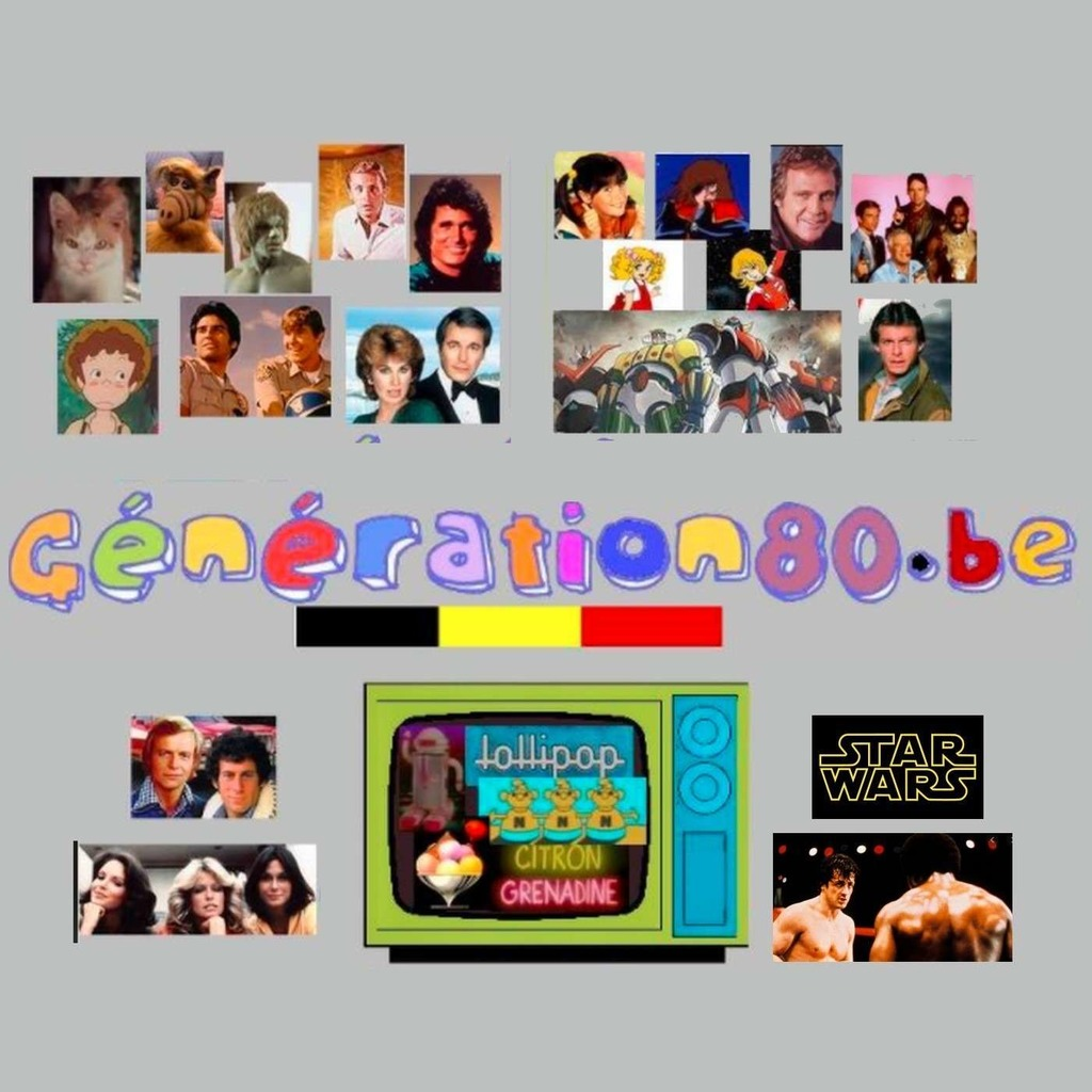 Les souvenirs de Generation80.be