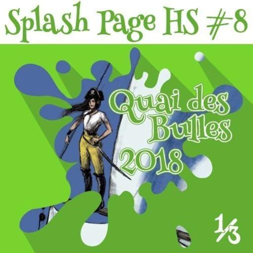 Quai des Bulles 2018 : Laurel, Cour, Falzon, Nikolavitch, Jousselin, Polystyrène, Manini