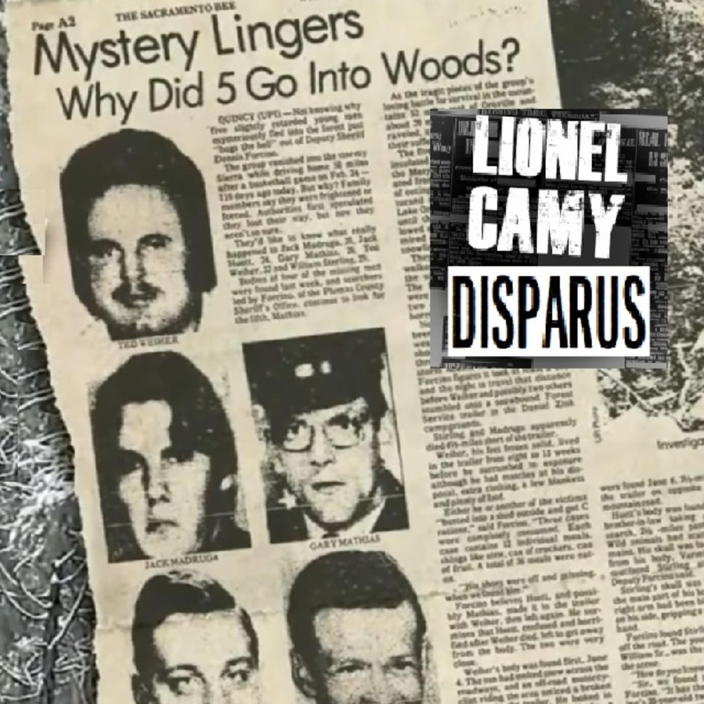 Le mystère des cinq disparus de Yuba, le Dyatlov Pass américain